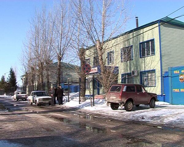 Захват здания РОВД в Волгоградской области