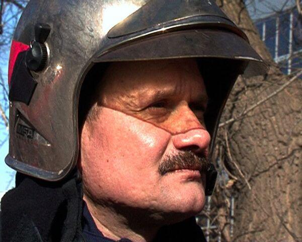 Последнее интервью РИА Новости погибшего в пожаре Евгения Чернышова