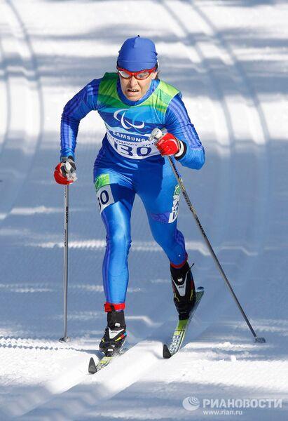 X зимние Паралимпийские игры. Лыжные гонки. Женщины. 5 км