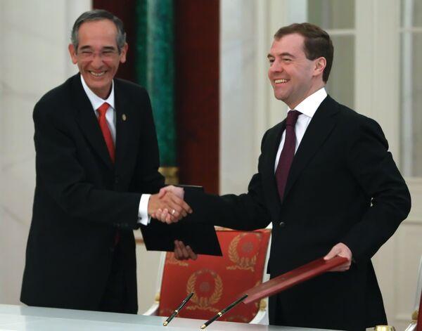 Российско-гватемальские переговоры состоялись в Кремле