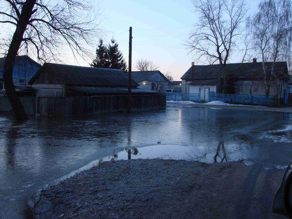 Весенний паводок в Волгоградской области