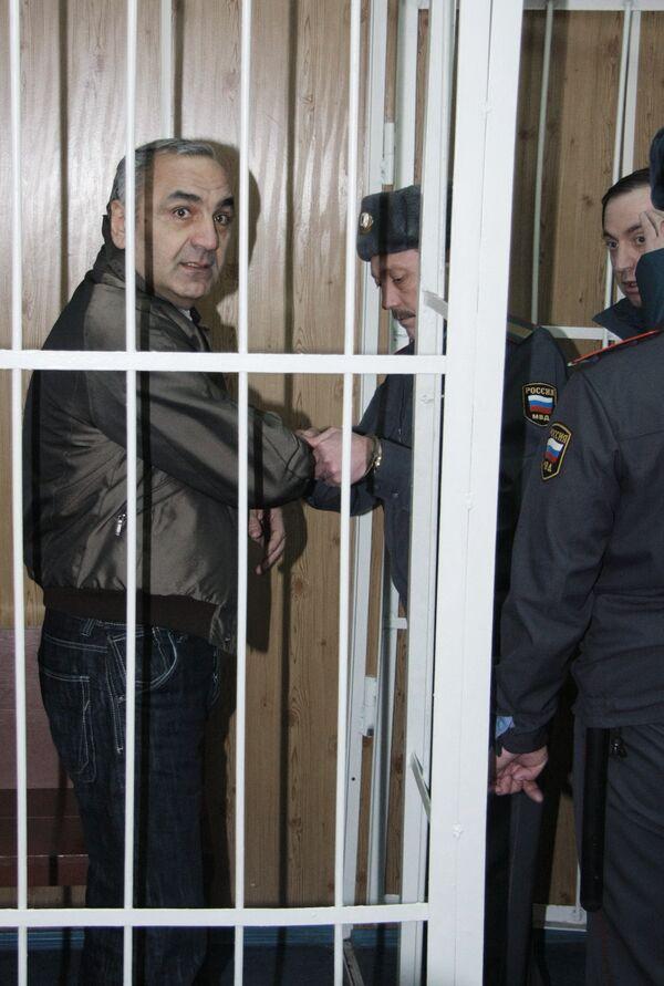 Криминальный авторитет Тариел Ониани. Архив