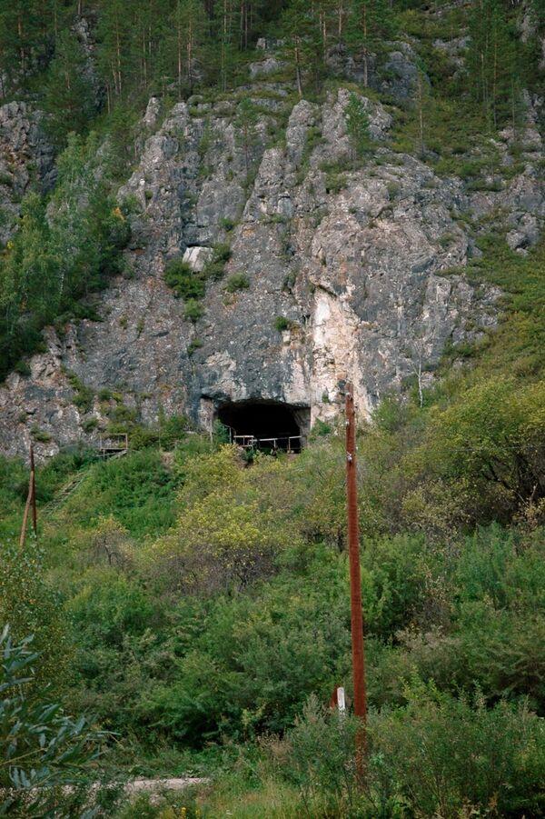 Пещера Денисова, вид снаружи
