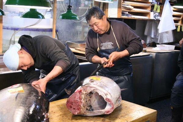 Экспорт тунца. Архив
