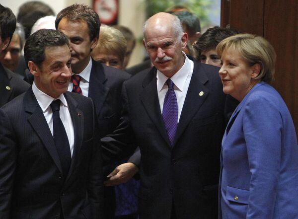 Франция и Германия достигли соглашения по финпомощи Греции