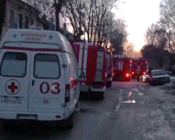 Пожар в жилом доме в Нижнем Новгороде. Видео с места событий