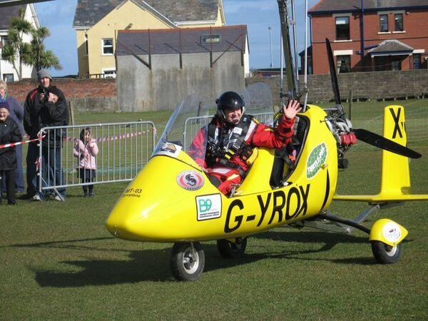 Североирландец Норман Серплас отправляется в кругосветный полет на гироплане Gyrox