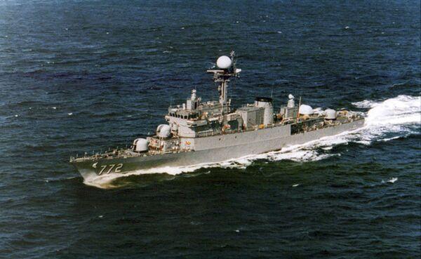 Южнокорейский военный корабль Чхонан, затонувший 26 марта 2010 г.