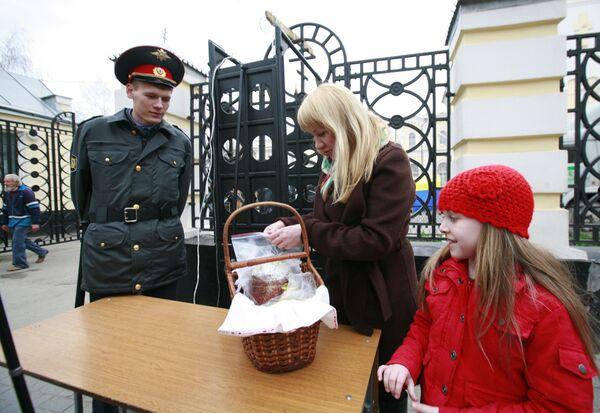 Усиленные меры безопасности во время подготовки к празднованию Пасхи