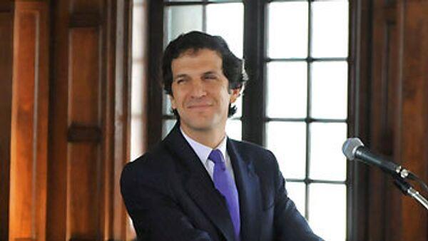Министр иностранных дел Колумбии Хайме Бермудес . Архив