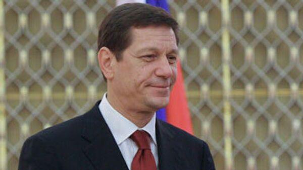 Вице-премьер РФ Александр Жуков