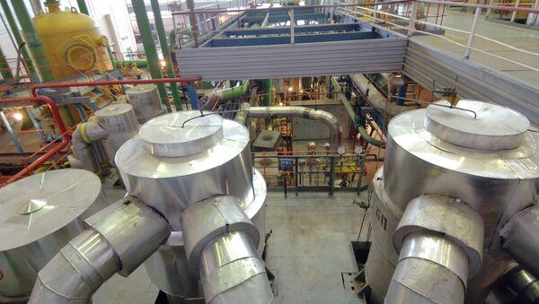 Атомная электростанция. Архив