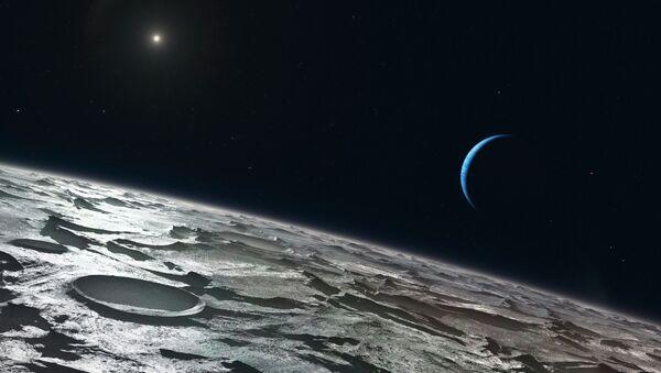 Лето на Тритоне, спутнике Нептуна. Архив