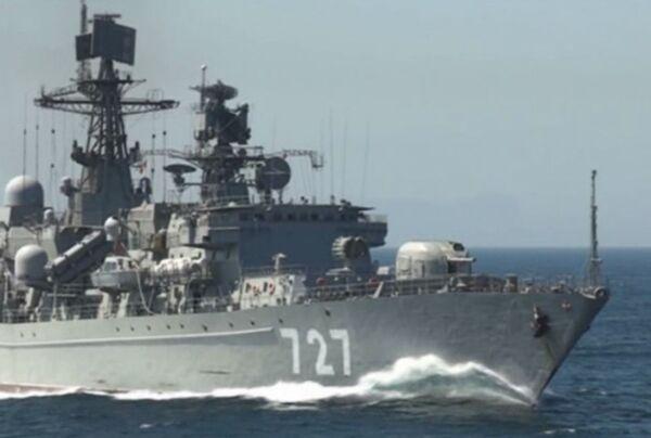 Флагманы Российского флота покорили Гибралтар