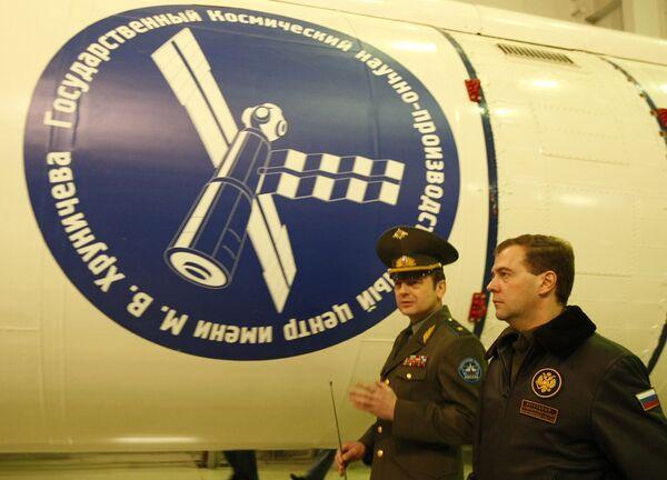 Командующий Космическими войсками генерал-майор Олег Остапенко