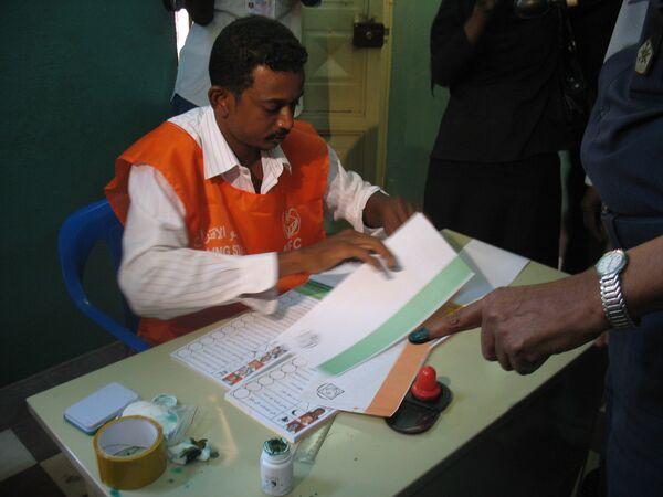Голосование на всеобщих выборах в Судане