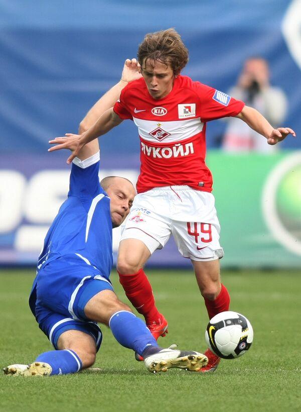 Футбол. Чемпионат России 2009. Динамо (Москва) - Спартак (Москва) - 1:1