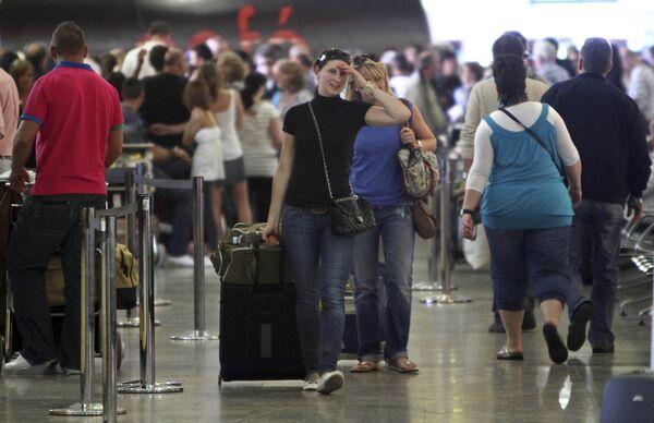 Задержки рейсов в аэропорту Фаро, Португалия