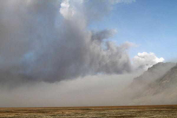 Облако вулканической пыли