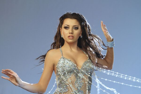 Съемки клипа песни Сафуры Ализаде для Евровидения-2010. Архив