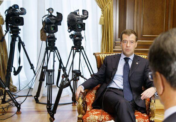 Интервью Дмитрия Медведева норвежской газете Афтенпостен
