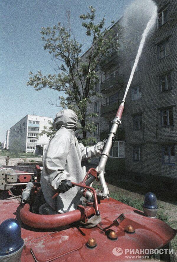 Дезактивация жилых зданий