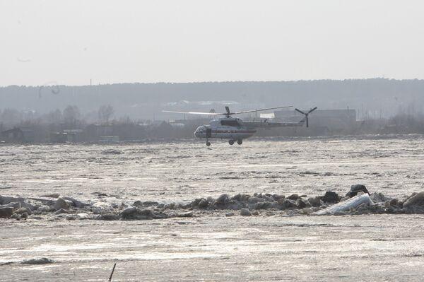 Затопление Томска паводковыми водами
