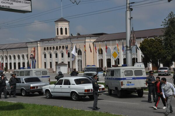 Взрыв на ипподроме в Нальчике, к которому причастны убитые боевики