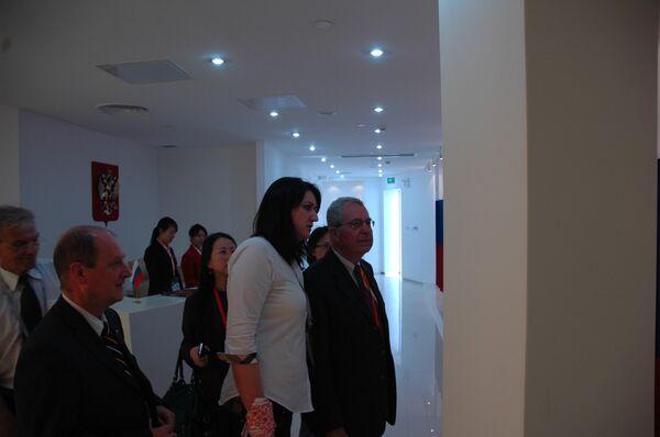 Президент международного бюро выставок посетил павильон России на ЭКСПО-2010