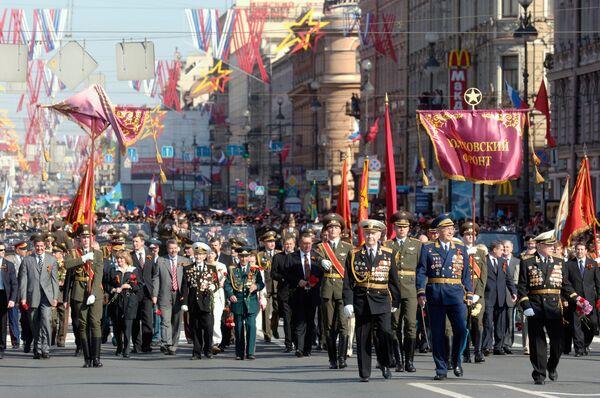 Ветераны Великой Отечественной войны. Архив