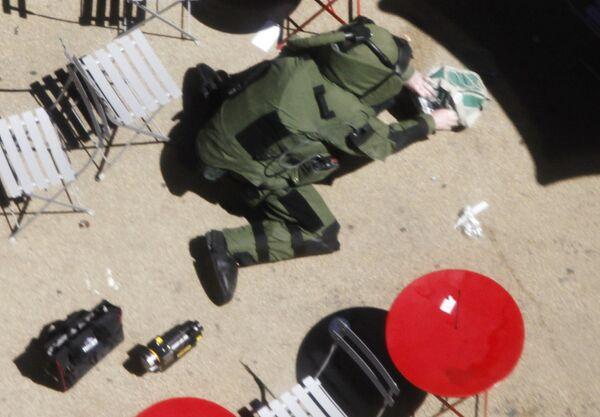 На Таймс-сквер обнаружен подозрительный пакет