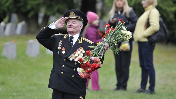 Празднование Дня Победы в Таллинне. Архив