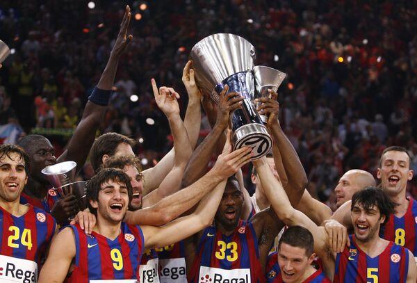 Баскетболисты Барселоны