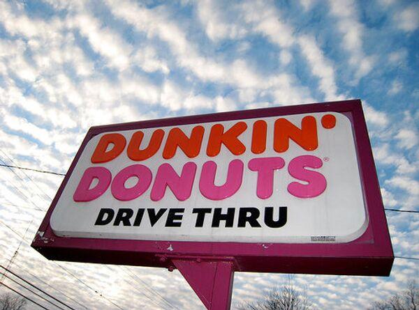 Dunkin Donuts открыла первую кофейню в России