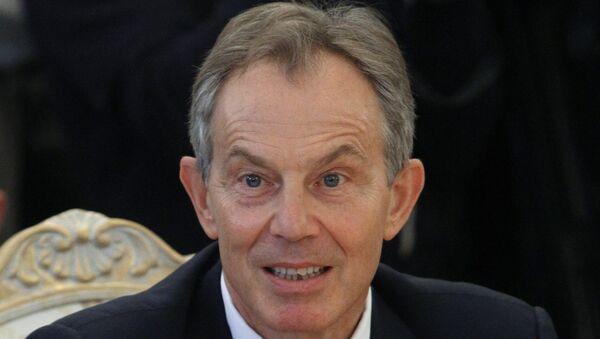 Бывший британский премьер Тони Блэр. Архивное фото
