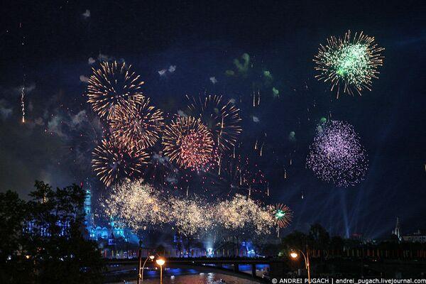 Празднование Дня Победы в Москве