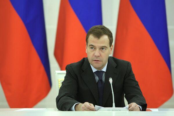 Медведев считает необходимым улучшить образ предпринимателя в России