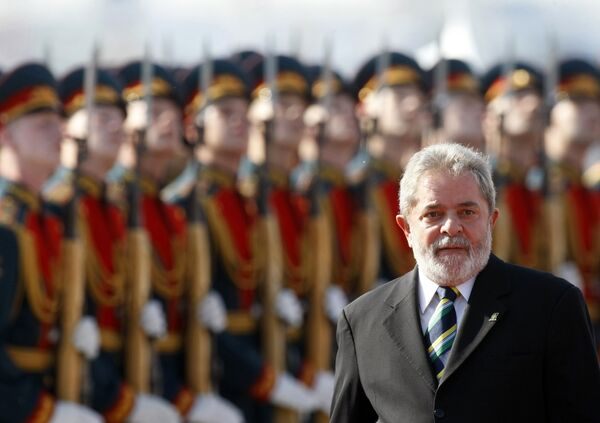 Визит Президента Бразилии Луиса Инасио Лула да Силвы