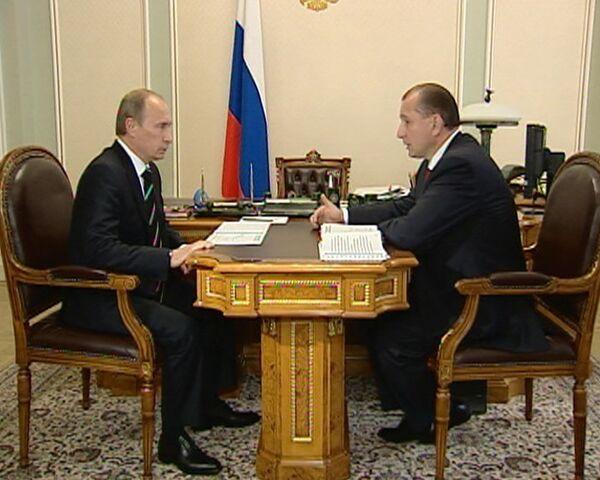 Артяков отчитался перед Путиным о капитальном ремонте жилья