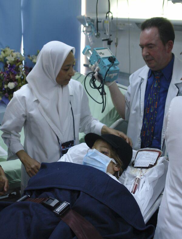 Мальчик из Нидерландов, выживший в авиакатастрофе в Ливии