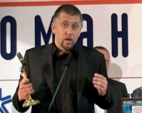 Серега прочитал частушку на церемонии премии Радиомания-2010