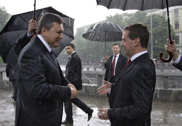 найти фото с медведевым под дождем