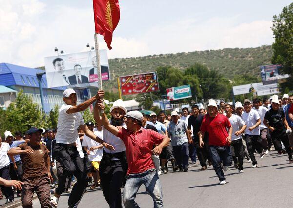 Волнения в Киргизии. Архив