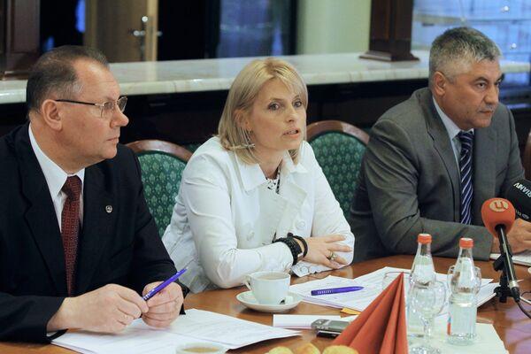 Первое заседание Общественного совета при ГУВД по Москве