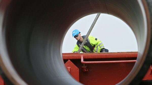 Cтроительство газопровода