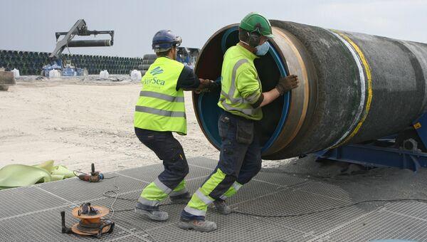 Cтроительство газопровода. Архив