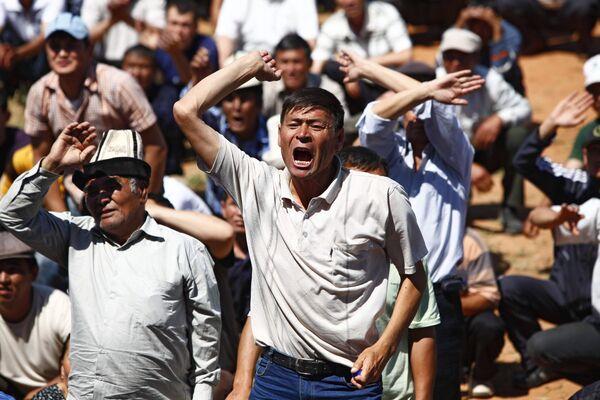 Развитие ситуации в Киргизии