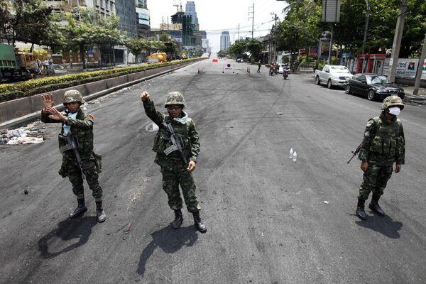 Правительственные войска в Бангкоке