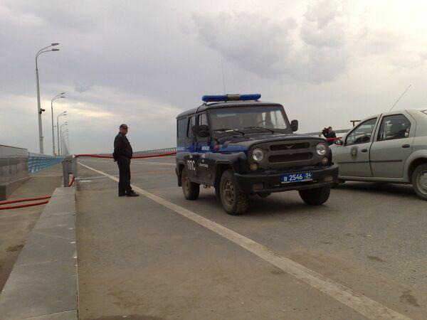 25 мая 2010. Мост в Волгограде