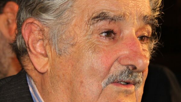 Президент Уругвая Хосе Мухика. Архив